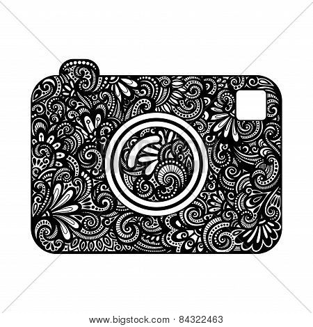 Vector Ornate Camera