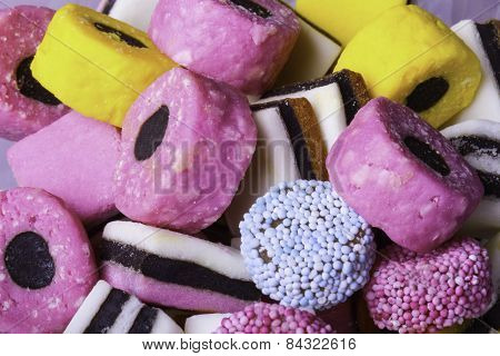 Colorful Liquorice Candy