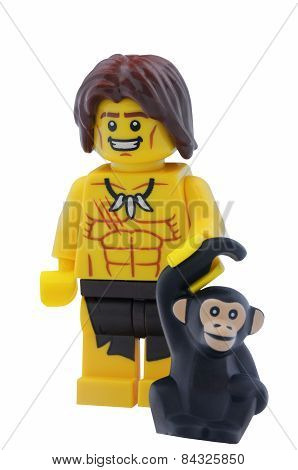 Jungle Boy Lego Minifigure