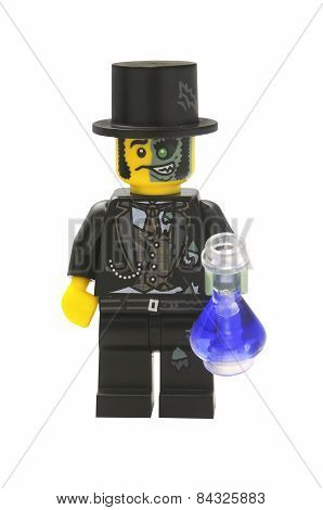 Mr. Good And Evil Lego Minifigure