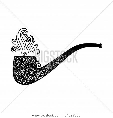 Vector St. Patrick's Day Symbol, Tobacco Pipe