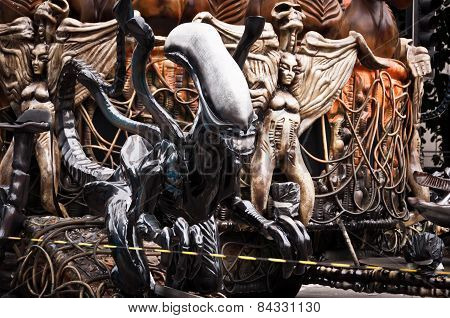 Rio de Janeiro Carnival Decorations