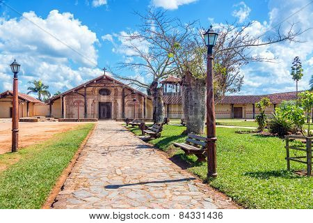 Park And San Javier Church