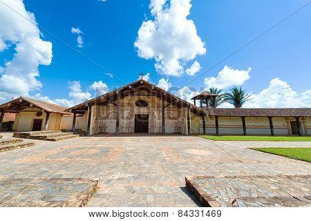 San Javier Church Exterior