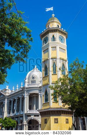 Moorish Clock Tower In Guayaquil