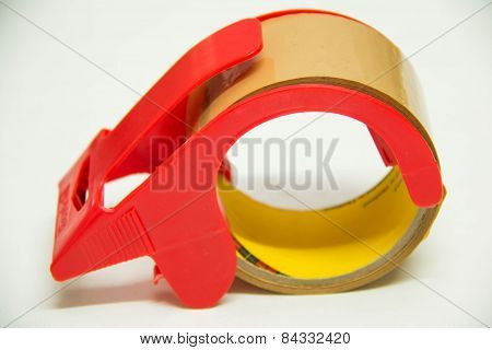 Sticky Tape Or Scotch Tape Isolated
