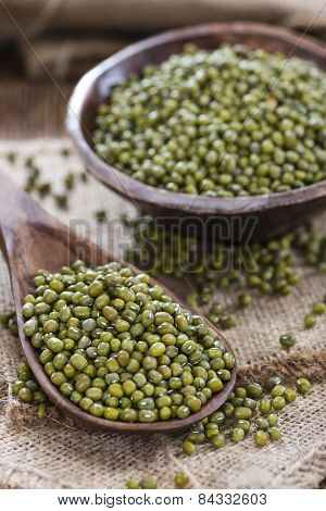 Portion Of Mung Beans