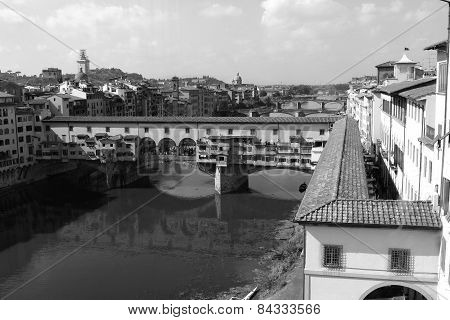 Firenze Ponte Vecchio Gold Bridge