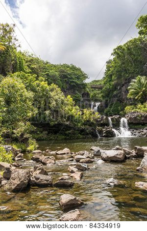 Waterfalls in Haleakala National Park, Maui