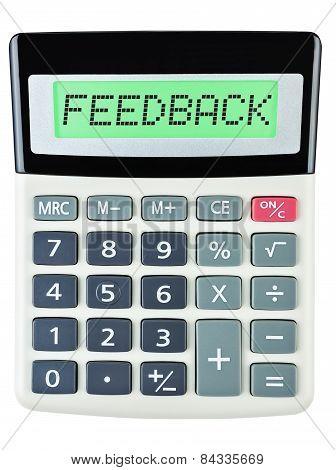Calculator With Feedback