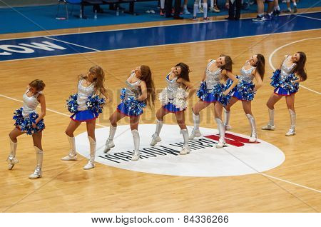 Cheerleaders Of Dynamo Team