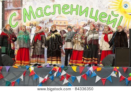 Russian Religious And Folk Collective Istock