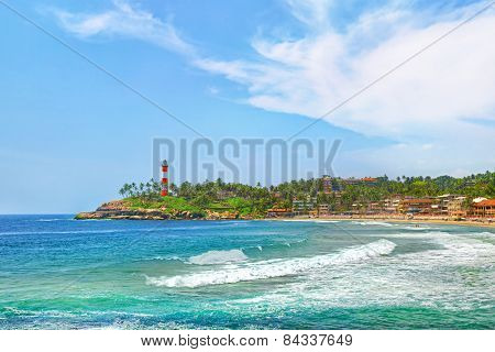 India, Kovalam beach, Kerala