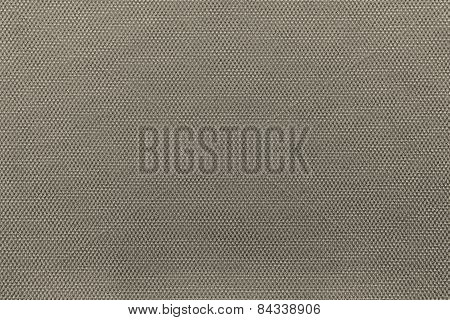 Interlacing Texture Fabric Of Dark Beige Color