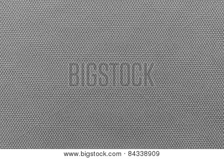 Interlacing Texture Fabric Of Dark Gray Color