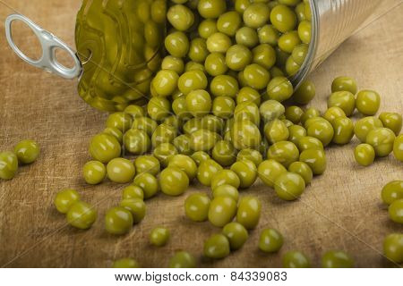 Green Peas Spilling