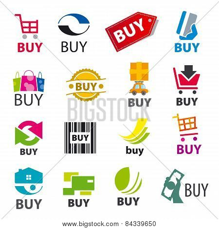 Big Set Of Vector Icons Buy