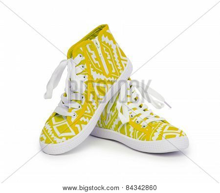 Sneakers Isolated On White Background