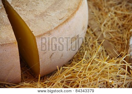 French Cheese On Hay