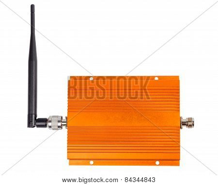 Amplifying Signal Repeater For Gsm Cellular Phone