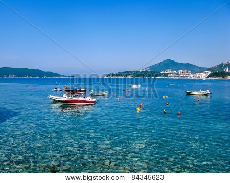 View On Sea In Montenegro