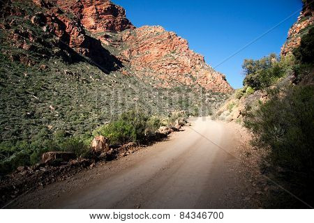 A mountain pass in the Karoo, South Africa