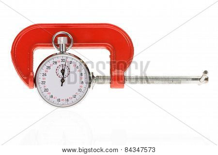 Stopwatch And Clamp