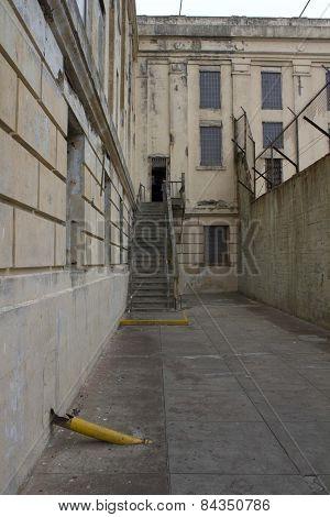 Inside Alcatraz Penitantiary, Oudoor View