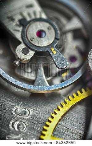 Watch Gears Close Up