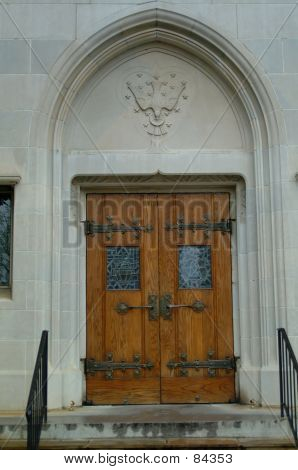 Gothic Church Doors 2