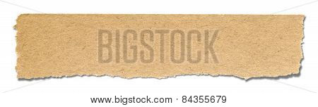 Recycled Blank Paper (clipping Path)