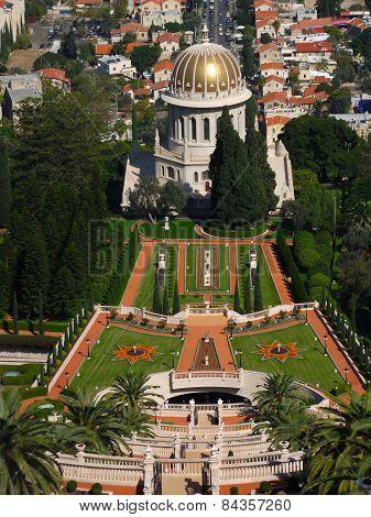 Baha'i garden and temple