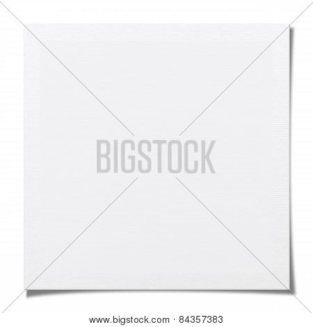 Textured Blank Photo Paper (clipping Path)