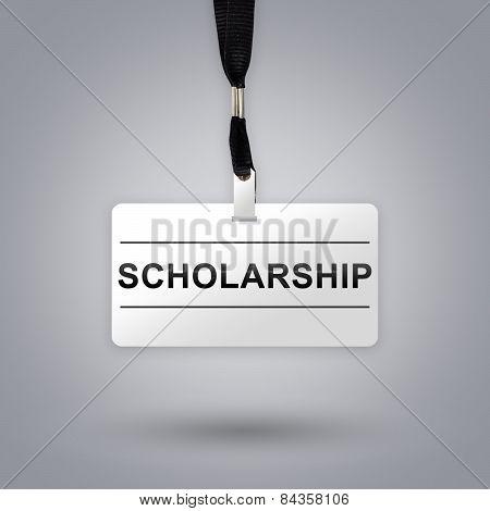 Scholarship On Badge