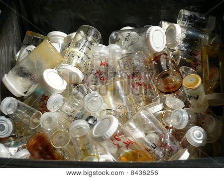 Bottles In A Bin