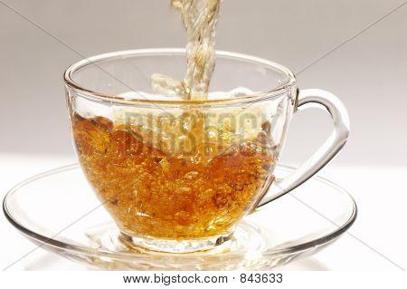 stream of tea