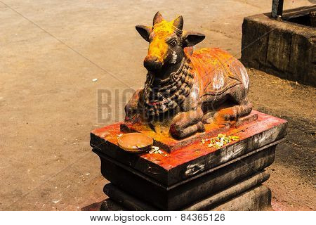 Statue of Lord Nandeshwara ~ Vehicle of Lord Shiva