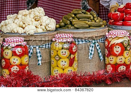 Happy Pickles From Maramures, Romania