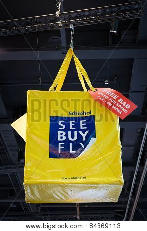 Big Yellow See Buy Fly Bag