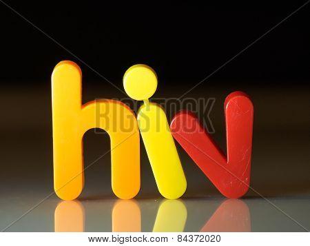 Hiv Virus Concept