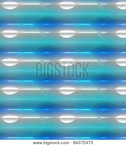 Glowing background, colorful blue, green, white
