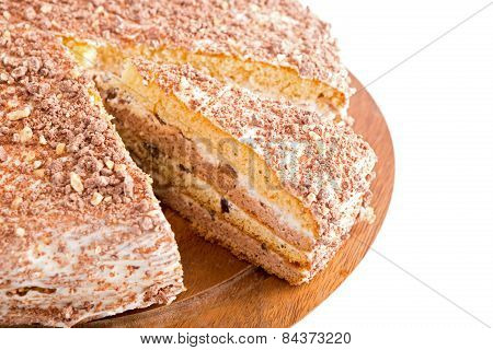 Sour Cream Cake With Prunes