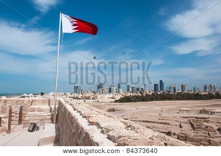 Qal'at Al Bahrain Fort, Island Of Bahrain