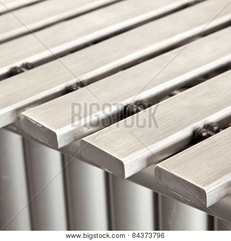 Closeup Of Vibraphone