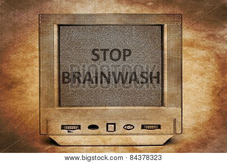 Tv Stop Brainwash
