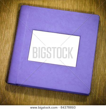 Purple Photo Album