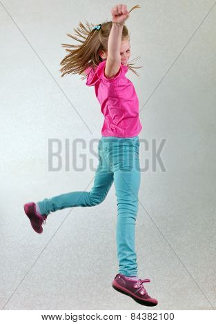 Pretty Girl  Jumping High