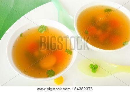 Bouillon soup