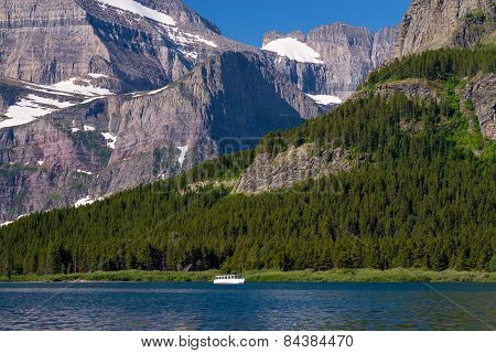 Ferry Boat, Swiftcurrent Lake