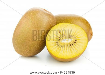 Golden Kiwifruit/ Kiwi Cut And Whole